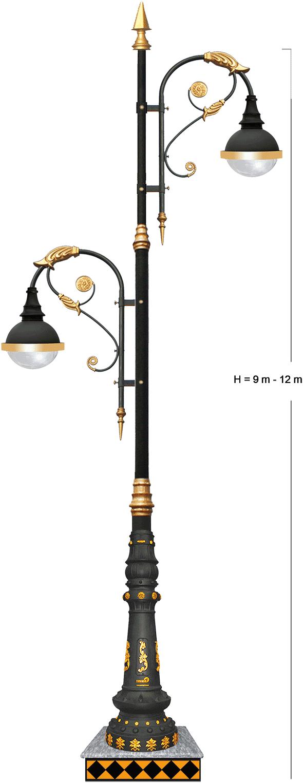 Decoration Road Lighting for Road Lamp Png  131fsj